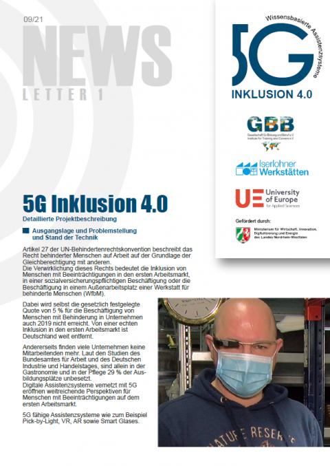 Cover Newsletter Nummer 1